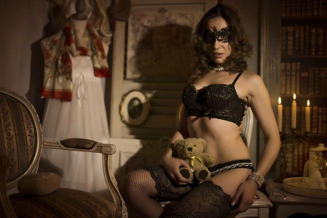 Teddybear Portrait Of A Woman Portrait Of A Friend Lingerie Sexygirl Canon6d