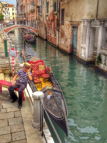 EyeEm Nature Lover HDR Collection Hello World Venezia Gondoliere Moderno