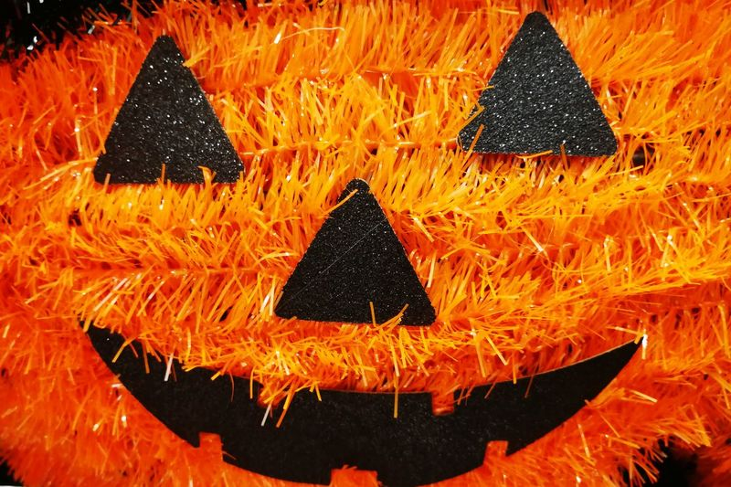 jack o Horror Festival Pumpkin Jack O Lantern Halloween Close-up Full Frame Backgrounds Textured  Detail Abstract Backgrounds