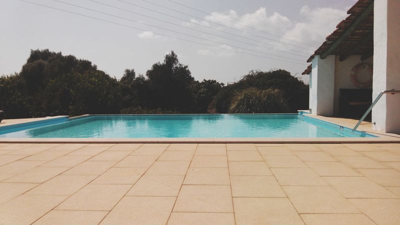 Water Sky Swimming Pool In Front Of Outdoors Standing Water Pool Pool Time Summer Summer Vibes Sun Holiday Holidays Vacations