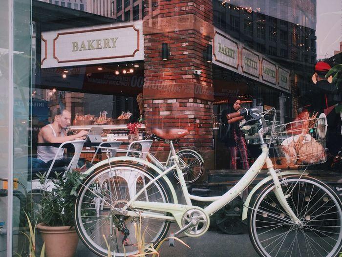 单车 街景 慢生活