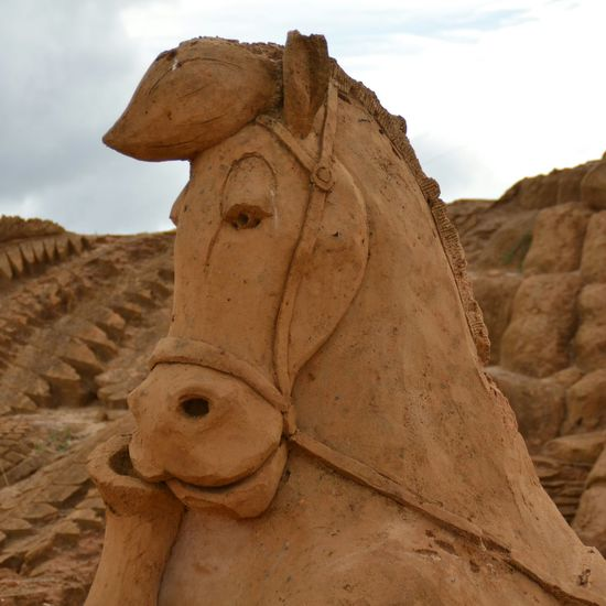 Sand Sculpture Sand Sculptures Imagination Sand Sculpture Sand Sculpture Park No People Art Lucky Luke