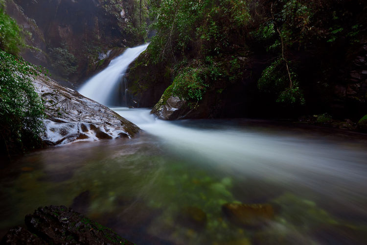 3 Falls... Beauty In Nature Blurred Motion Falling Water Flowing Flowing Water Forest Land Long Exposure Motion Nature No People Non-urban Scene Outdoors Plant Power In Nature Rainforest Rock Rock - Object Scenics Scenics - Nature Solid Stream - Flowing Water Tree Water Waterfall