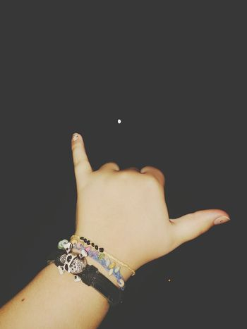Hand Hand Shaped Limb Wrist Skin Night Night Photography Fingers Flash Human Skin Indie Indie Rock Bracelets <3 Bracelet Beads Wood Beads Bead Bracelet Indie Girl  Moon Braceletskull