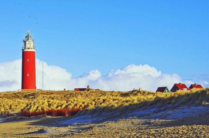 Texel Lighthouse Lighthouse Clouds Photography Nopeople EyeEm Nature Lover Eye4photography  Nature_collection Holland Texel  Islands Dünenlandschaft Dunes Wolken Leuchtturm Travel Relax Holidays Naturelovers Beautiful Nature Sky Protection Day Cloud - Sky Lighthouse No People Outdoors Nature