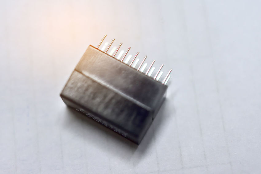 IC Electronic part and device for PCB board development technology AI Technology Part Electric Parts Electronic Electronic Devices IC Ellectronic IC Part Device PCB Part Aluminum Business Clean Close-up Copy Space Development Electricity  Focus On Foreground Gold Gray Gray Background Indoors  Mainboard Metal No People Personal Accessory Selective Focus Shape Silver - Metal Silver Colored Simplicity Single Object Steel Still Life Studio Shot Technology