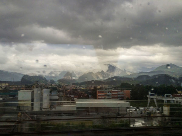 Cloud Lonely Rain Beauty In Nature Bus Bus View Cloud - Sky Italy Lonelyplanet Mountain Mountain Range Sadness Sky Travel Destinations