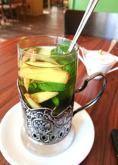 Ginger mint tea Beverage Drinks Ginger Mint Ginger Tea Tea Winter Close-up Drink Drinking Drinking Glass Food And Drink Freshness Ginger Green Color Healthy Eating Healthy Lifestyle Herbal Herbal Tea Homeopathy Indoors  Mint Leaf - Culinary Mint Tea No People Refreshment Tea Time