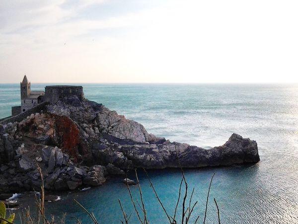 Portovenere Golfo Dei Poeti Laspezia SanPietro Chiesa Church Mare Sea