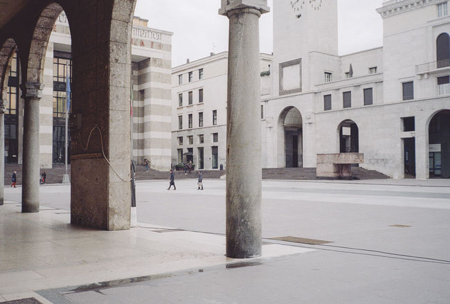 Architecture Brescia Building Building Exterior Built Structure City Culture Exterior Façade Famous Place Fascism Historic History Italy Piazza Della Vittoria Piazza Vittoria Rationalism Tower