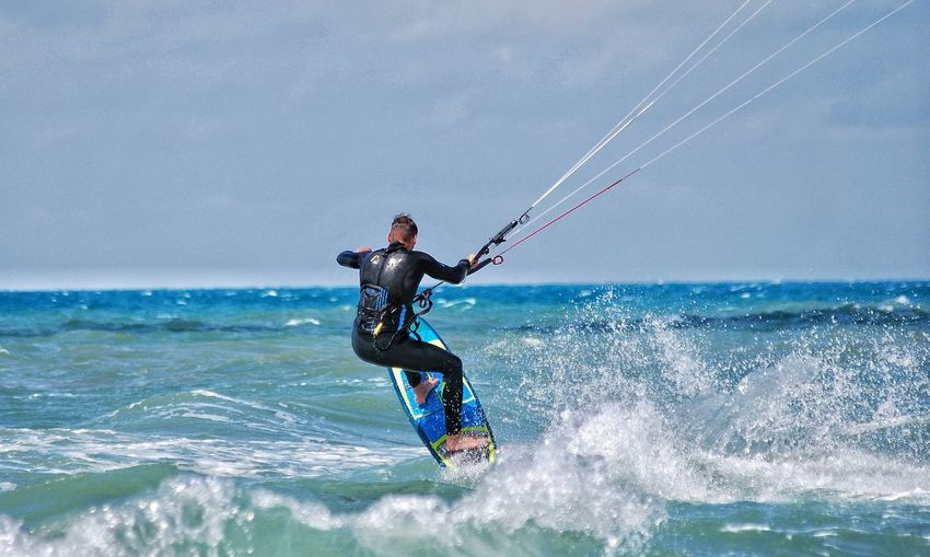 Strapless Strapless  Kitesurfing The Great Outdoors - 2017 EyeEm Awards Kitesurfing Freestyle Capo Verde Ponta Preta Extreme Sports Water Sport Surfing Live For The Story Go Higher