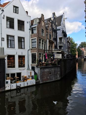 Amsterdam Outdoors Water Architecture Reflection Canal River Cloud - Sky Eurotrip Netherlands Streetart