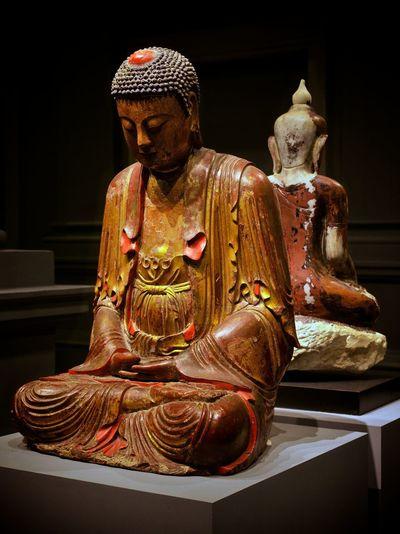 Buddha Meditation Pray Art And Craft Asian Civilisations Museum Asian Civilization Museum Buddhism Crosslegged Culture History Praying Religion Sculpture Spirituality Statue