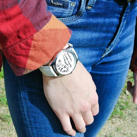 Watch Whatever Late I'm Late Shirt Squares Jeans Pepejeans Ziz Likeforlike
