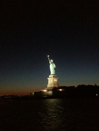 Taking Photos Check This Out Enjoying Life Hello World Fun Night New York City New York Statue Of Liberty Art