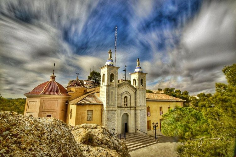 Santuario del Castillo Cloud - Sky Sky Architecture Religion Travel Destinations Outdoors Building Exterior Politics And Government Place Of Worship Built Structure Day Tree Nature No People