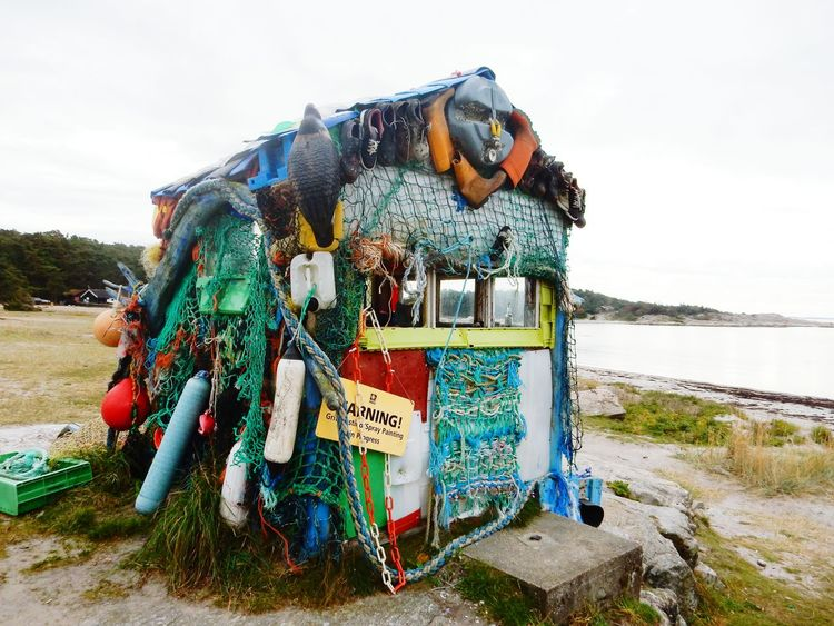 Hvaler  Norway Beach Cottage ArtWork Environment Takingcareofplanets Garbage Rubbish Arcitecture How Do You See Climate Change? Climate Change Climatechange Polution Is All Around The World Waterpolution Stop Polution
