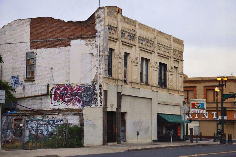 Graffiti Downtown Urban