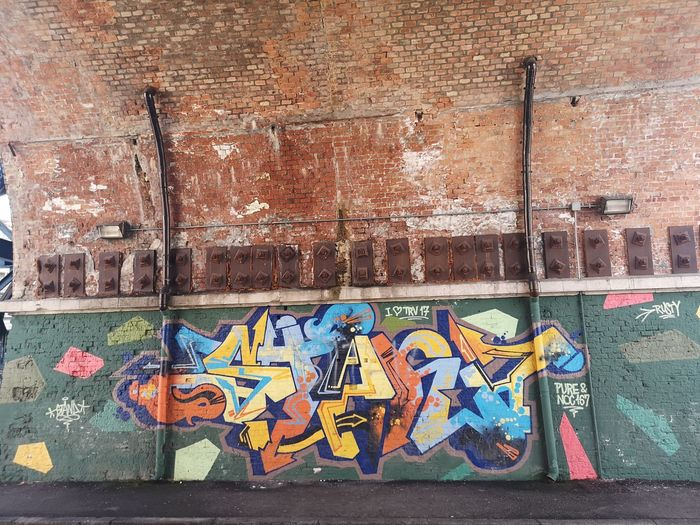Graffitti on