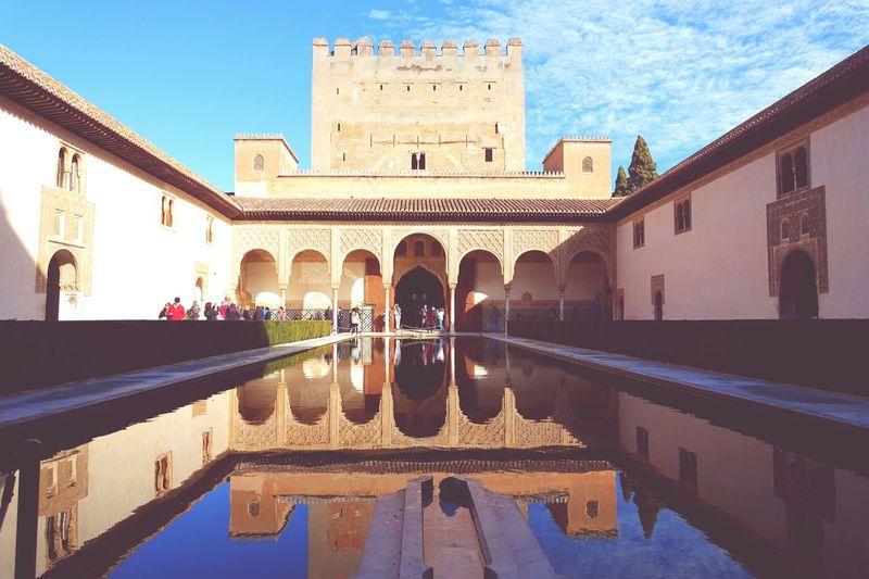 Traveling Architecture Reflections Enjoying Life Alhambra