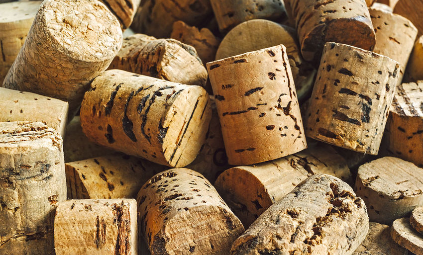 Cork stoppers for wine bottles Alcohol Arrangement Backgrounds Close-up Cork - Stopper Day Drink Food And Drink Full Frame Indoors  No People Textured  Wine Wine Bottle Wine Cork Winetasting Wood - Material