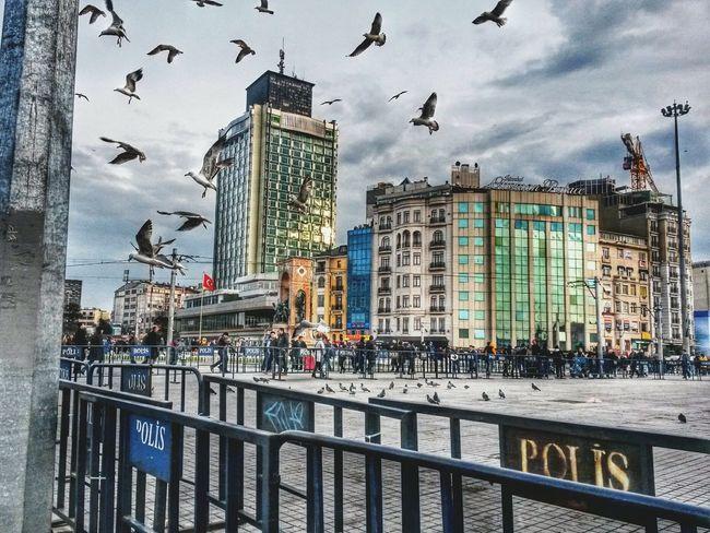 Istanbul Turkey Taksim Taksimbeyoglu Taksim Meydanı