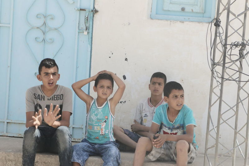 Bambini  Povertà Tunisia
