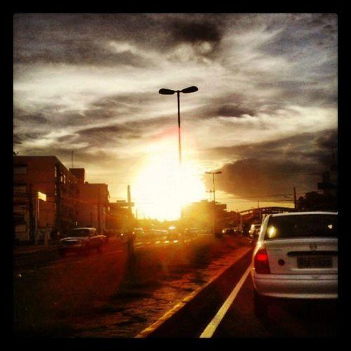 Belissimo.final.de tarde em Campo Grande MS. Pordosol Campogrande Maroli Janetemaroli estudioxis @estudioxis