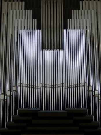 Repetition Indoors  Low Angle View Day No People Architecture Structures & Lines Structure Organ Organ Pipes Silver - Metal Silver Colored Silver  Musical Instrument