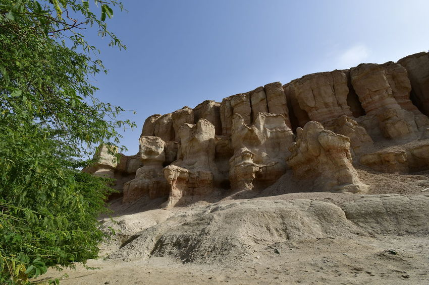 Ak Qarah Mountain in Saudi Arabia Al Qarah Gara Mountain Historical Monuments Land Of Civilization Qarah Mountain Rocky Saudi Arabia Sights Al Hasa Al Hofuf Day Historical Place Nature No People Outdoors Qara Rock - Object Rocky Mountains Saudii Saudii ARABIA Sky Travel Saudi Arabia