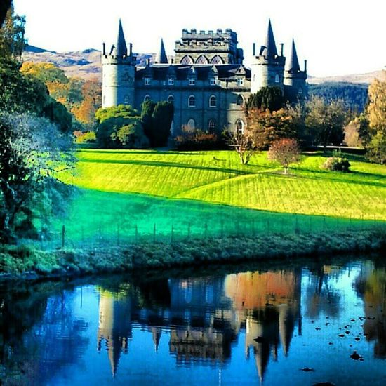 'Fairytale' InveraryCastle Inverary Scotland Castles Reflection Scenery Water Scenery Fairytale Fantasy igers ig_artgallery James_pop instahub instamob picoftheday bestoftheday primeshots