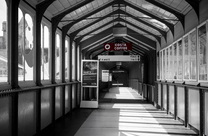 Corridor Arched Arch Indoors  Amateurphotography Canonphotography Canon 70d Canon_official Train Station Walkway Hallway Costa Coffee Station Lancaster North West Lancashire Streetphotography Street Photography Streetphoto Street Photographer Composition Aperture Priority Focal Point F-stop Canon