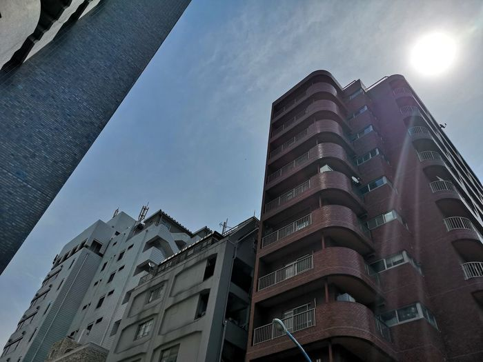 Apartment Architecture Building Building Exterior Built Structure City Cloud - Sky Day High Low Angle View Modern Nature No People Office Office Building Exterior Outdoors Residential District Sky Skyscraper Sunlight Window