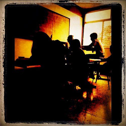 Checking in at U.E. Colegio Las Colinas Checking In