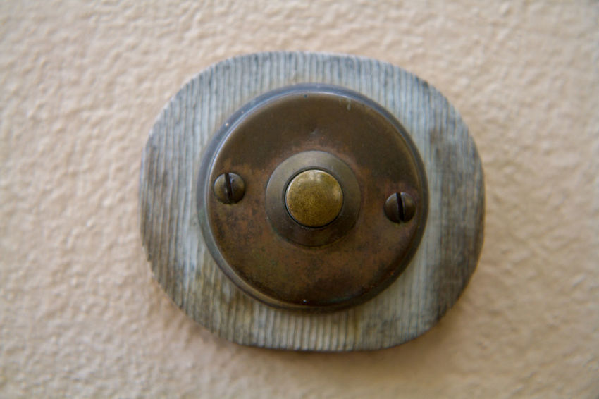 Bell Architecture Built Structure Close-up Day Door Indoors  Metal No People Old-fashioned
