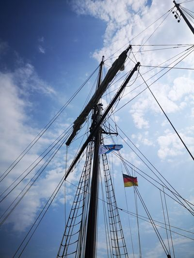 Technology Sky Cloud - Sky Mast Sailing Boat Water Vehicle