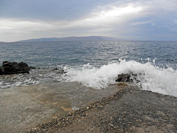Kalic bay,Adriatic coast,Croatia,Europe,2 Adriatic Coast Adriatic Sea Bay Day Jurjevo Kalic Nature No People Outdoors Sea Seaside Senj Sv.Juraj Tourism Tranquility Water
