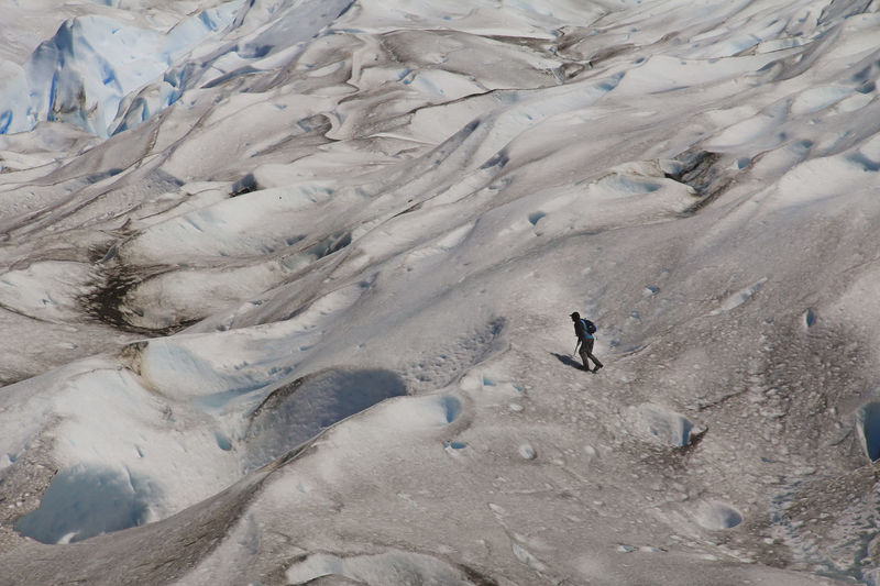 Land Environment High Angle View Nature Vertebrate People Landscape Day Adventure Cold Temperature Leisure Activity Snow Winter Challenge Activity Outdoors Trekking Glacier Man