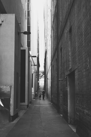 Blackandwhite City City Life Day Black & White Building Grandparents Grandchildren Grandpa Grandson Love Together Company Daily Life Laneway Lane Aussie Aussiephotos People And Places