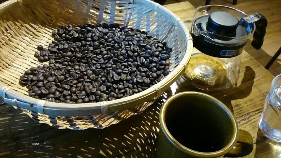 Coffee 焙煎 Rost