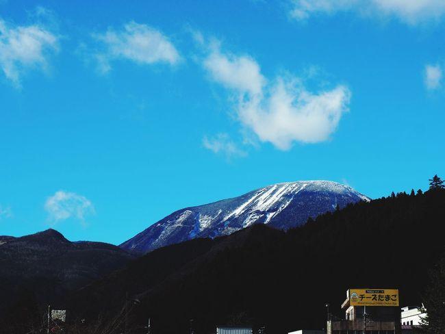 男体山 Nikko Winter Mountain Sky Olympus OM-D E-M5 Mk.II