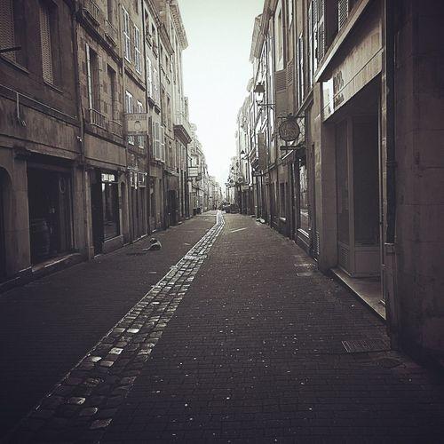 Poitiers Architecture Rue Pietonne