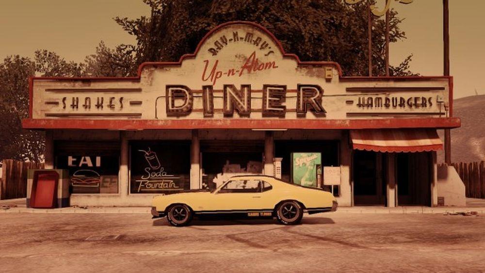70's diner. Gtaphotographers