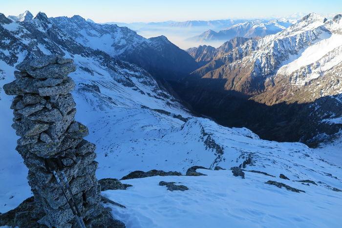 1 gennaio 2017 - Pizzo Trubinasca Val Codera Mountain Mountain Range Snow Val Bregalia Val Bondasca