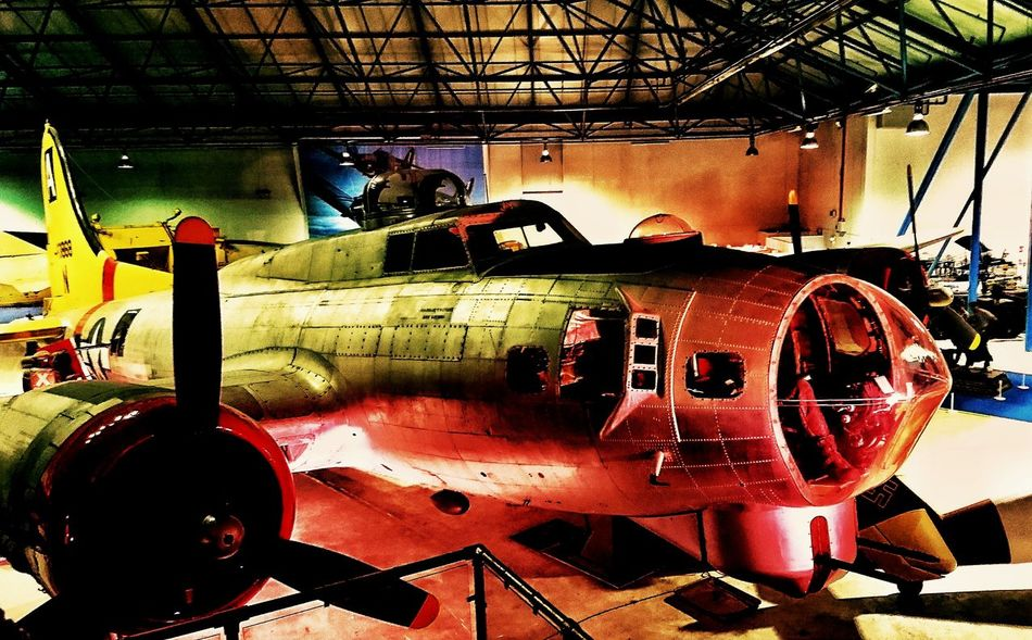 PhonePhotography Me, My Camera And I Mobilephotography Transport Aviation Vintage Airplane Aeroplane Vintageplanes Wings Plane Museum Aircraft Aviationphotography Propeller Indoor Photography