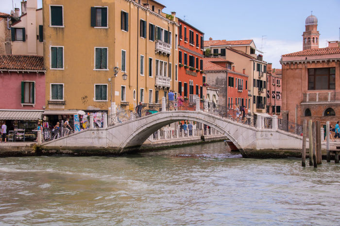 Architecture Canal Water Venice, Italy Venezia Italian Landscapes Venice Landscape Waterfront Buildings On Water View Of Italy View Of Venice Itlay Beautiful Venice Tourist Attraction  Tourism Tourist Destination Sky Lots Of Building