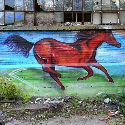 Better picture Mastrocola Spraypaint Redhorse Redstarmovement commission abandoned