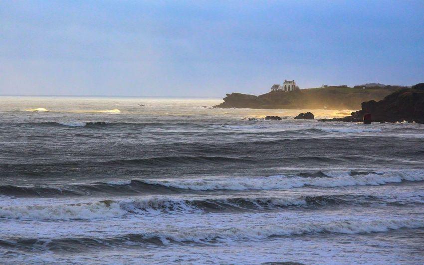 Golden sea Sea Gold Water Nofilter Canon Landscape Bretagne Life Is A Beach Beautiful Nature Beachphotography