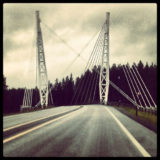 Kolomokrysset E6 Bridge Road Traffic
