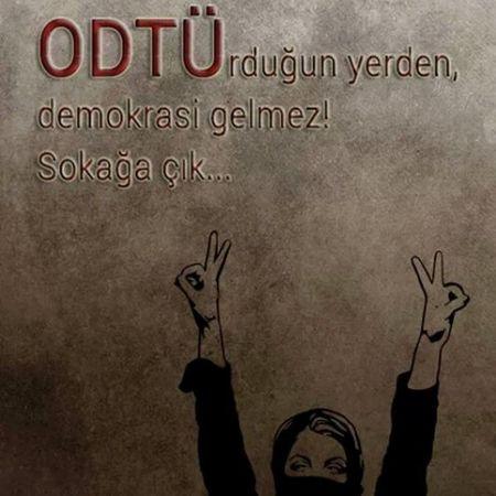 Odtü Occupygezi #occupygeziparkı #direniş #istanbul #taksim #geziparkı #direntürkiyem Devrim Sol